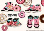 Donut Monster Sneaker