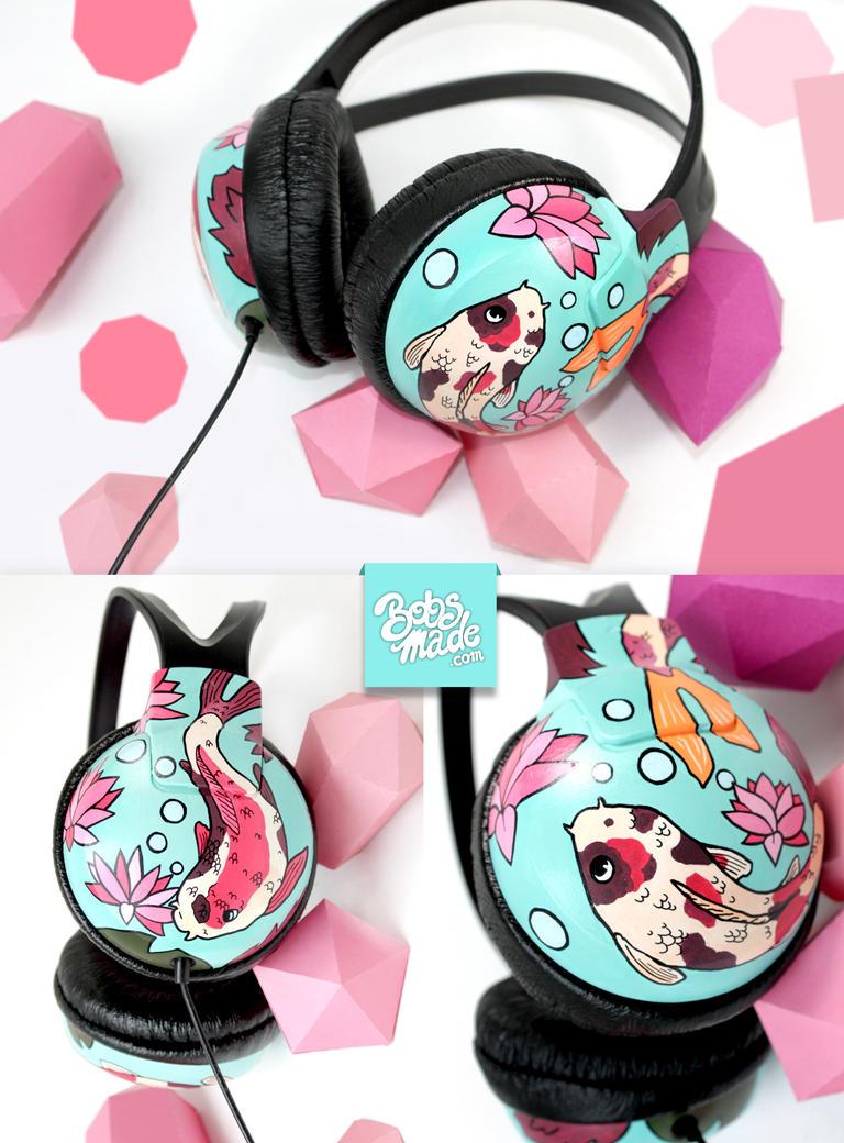 Koi headphones by Bobsmade