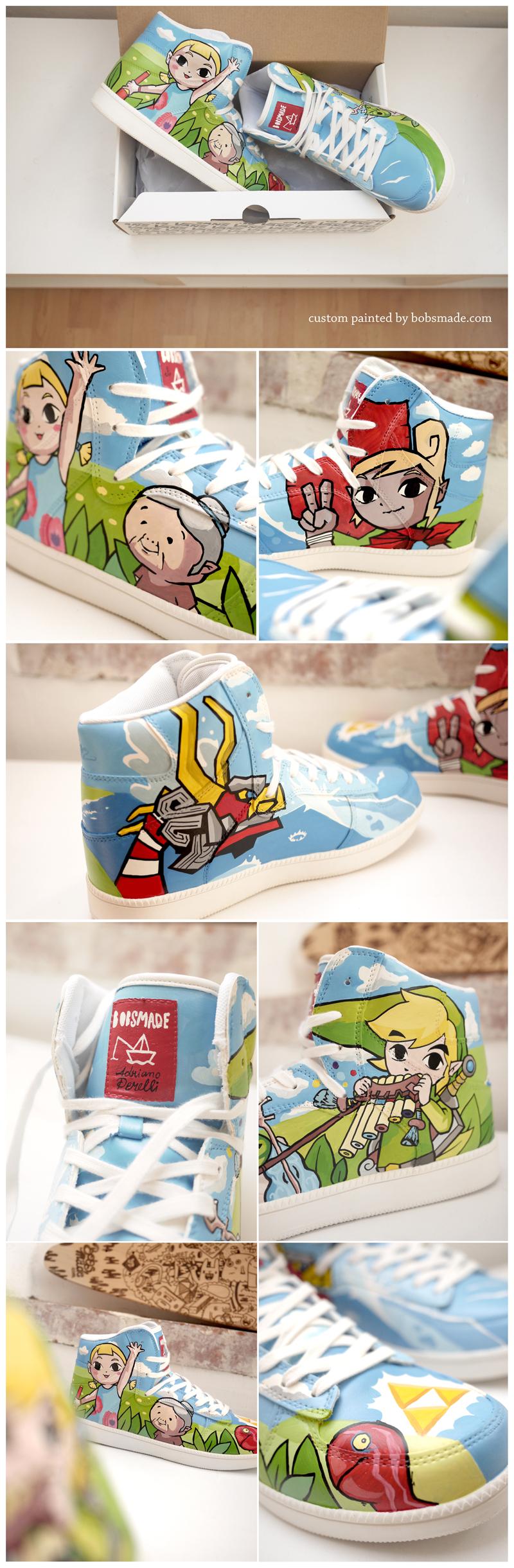 Zelda Sneaker by Bobsmade