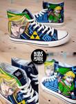 Link from Zelda Shoes