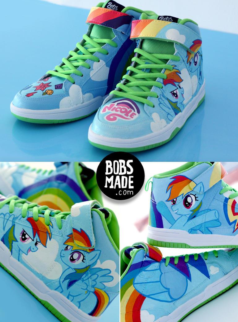 Rainbow Dash Sneaker by Bobsmade