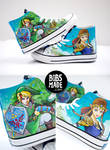 Link X Zelda Shoes