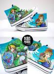 Link X Zelda Shoes