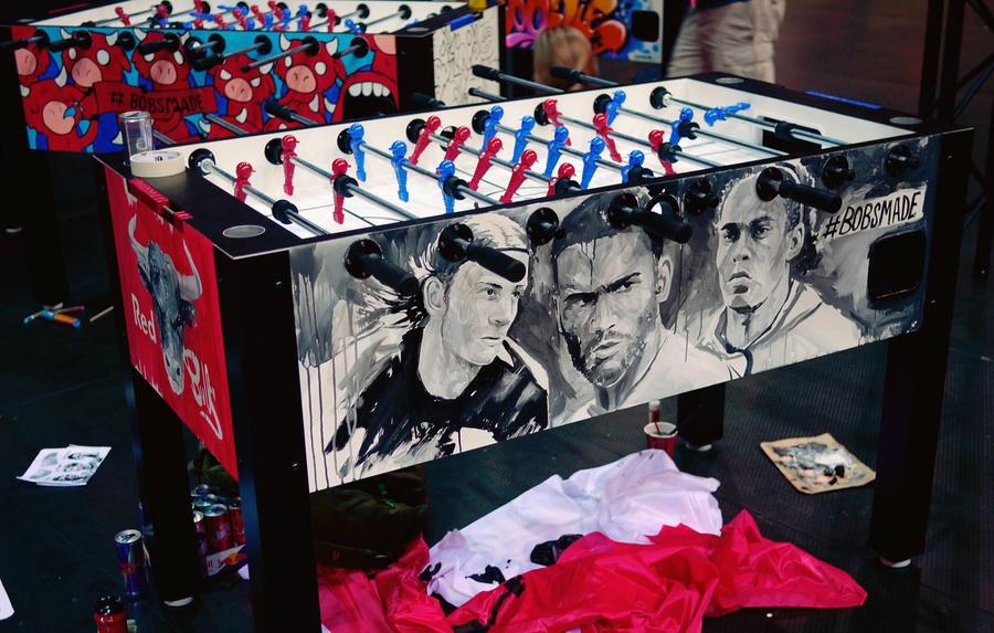 Redbull Table Soccer by Bobsmade