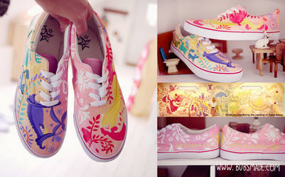 Fairytale Wedding Shoes by Bobsmade