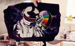 Daft Punk Messenger Bag