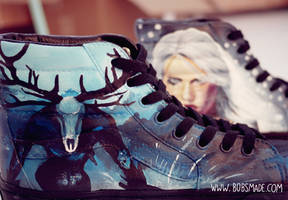 The Witcher 3 Vans by Bobsmade