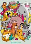 Animals Doodle