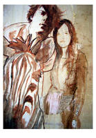 White Stripes auf einem zebra by Bobsmade