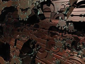 Mandelbox-CopperCutouts by PrinceChartreuse
