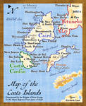 Coats Islands Map
