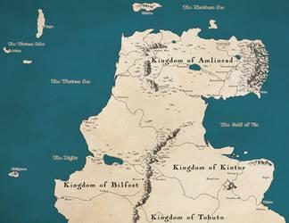 Fantasy Map: Amlinrad