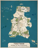 Tokitara map
