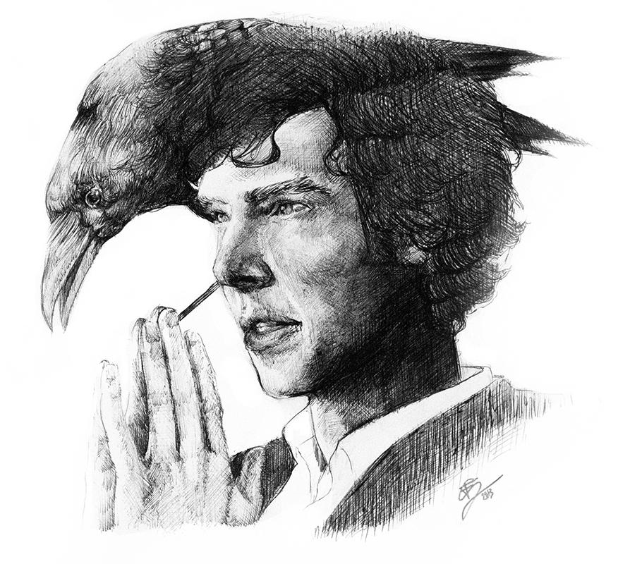 Sherlock by Caeruls