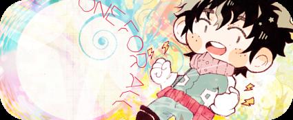 Boku no Hero Academia - Izuku Midoriya Signature by sakuradreamer