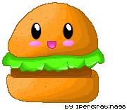 Hamburger Kawaii by IperGiratina98