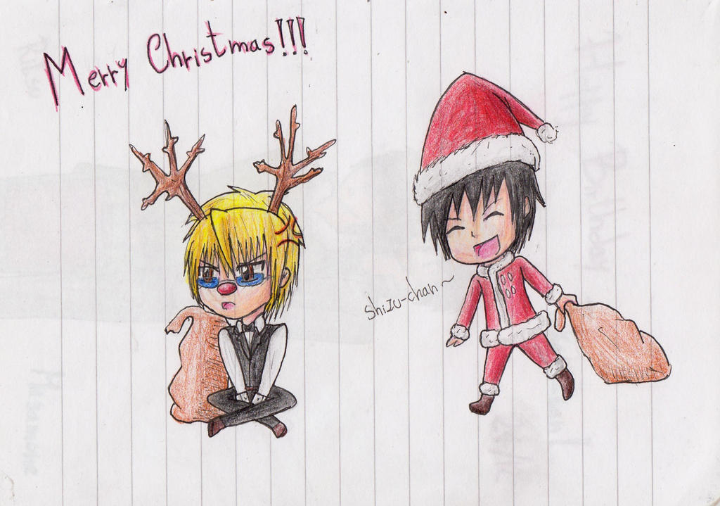 Merry Christmas! ( very late 8'D ) by IperGiratina98