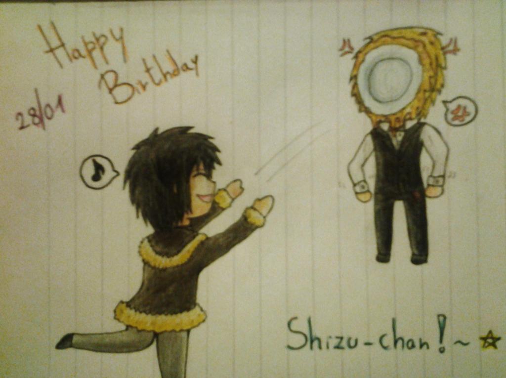 Happy Birthday Shizu-chan! by IperGiratina98
