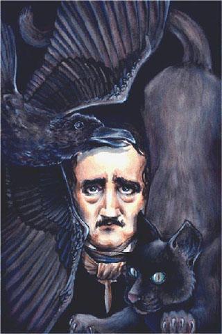 A Portrait of Poe by glamourjunkie