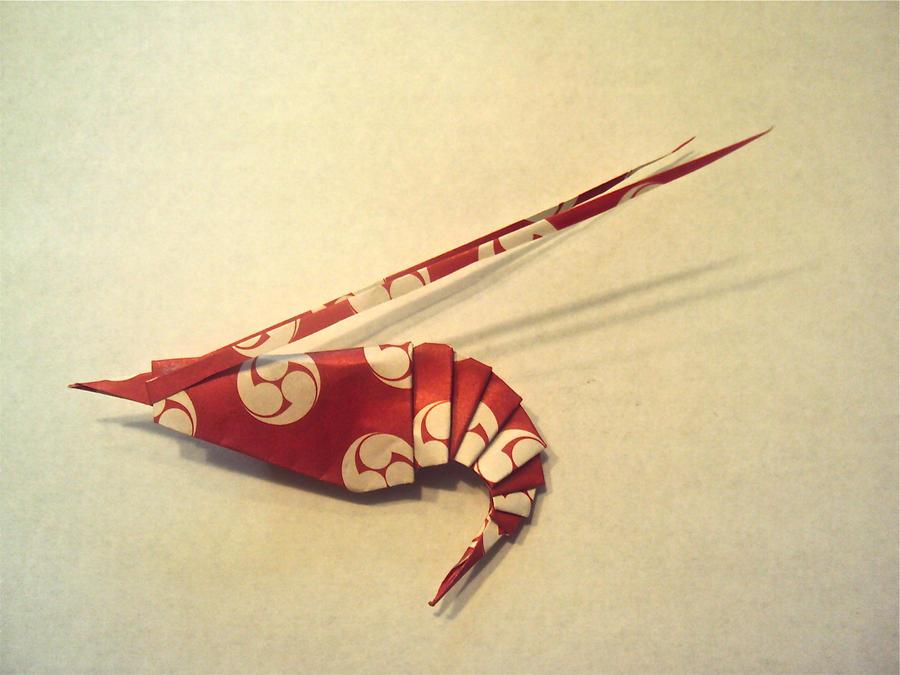 Origami Shrimp By Suki