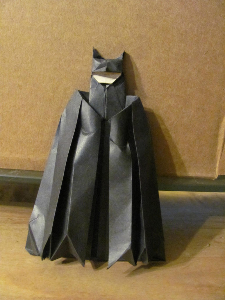 Origami Batman By Suki Origami On Deviantart