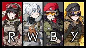 RWBY x Rainbow Six Siege