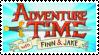 Adventure Time Stamp by Murder--Machine