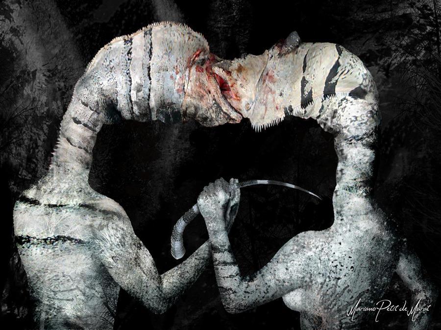 The Kiss by Mariano-PetitDeMurat