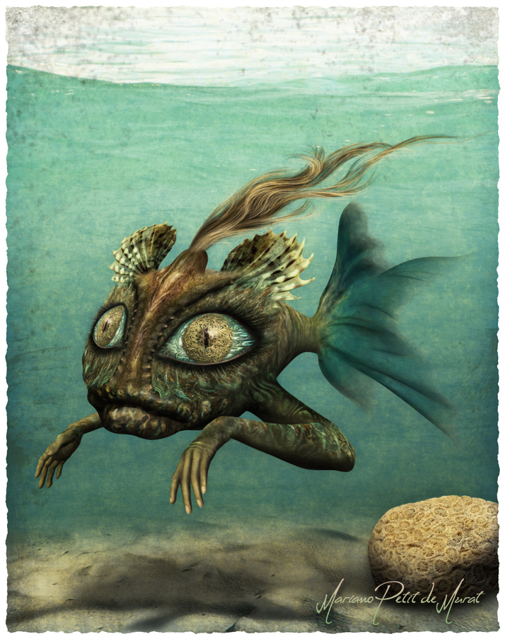 Mutating in Calmed Waters by Mariano-PetitDeMurat
