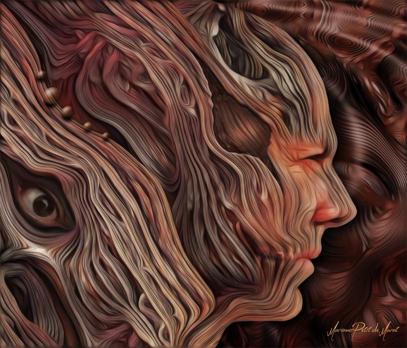 Inside (Self Portrait) by Mariano-PetitDeMurat