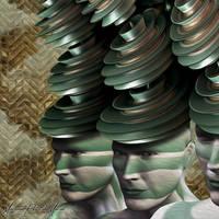 Thinking Cups by Mariano-PetitDeMurat