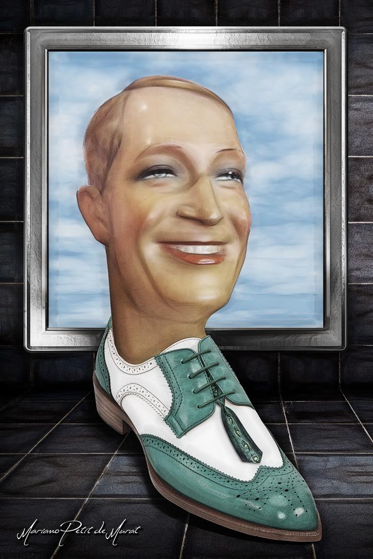 El Optimista Hombre Zapato by Mariano-PetitDeMurat