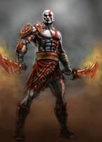 Kratos by BorisPeci