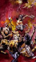 Conan the Destroyer by BorisPeci