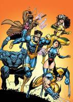 X-Men by BorisPeci