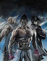 Mishima Clan by BorisPeci
