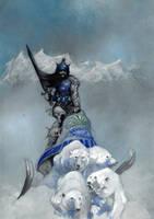 Silver Warrior by BorisPeci
