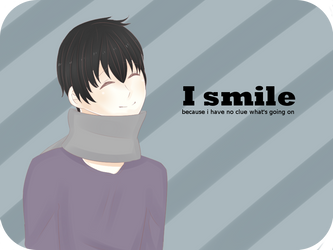 I smile... by PrincessEve1