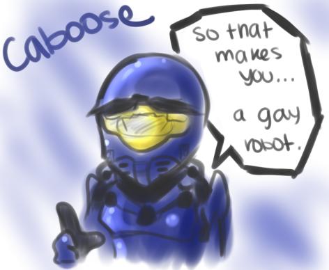 A gay robot