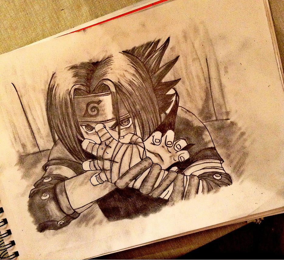 Sasuke Uchiha: Powered Ambitions by SilverGoldsun