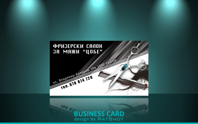 20 barber business cards free psd eps ai indesign word pdf barber ratshots deviantart gallery barber shop business card templates fbccfo Choice Image