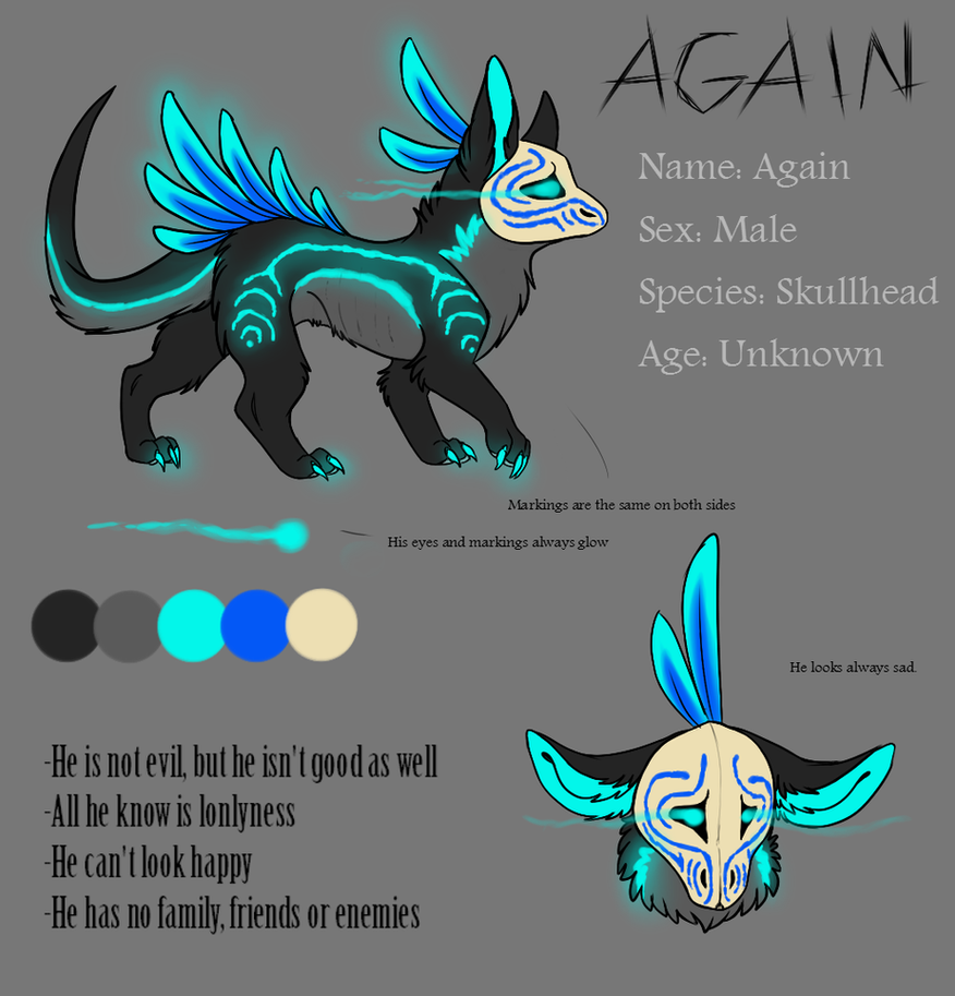 Again - Ref Sheet by Sorasongz