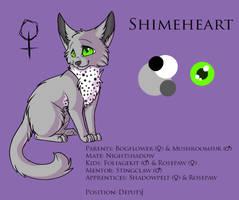 Shimeheart - Ref Sheet by Sorasongz