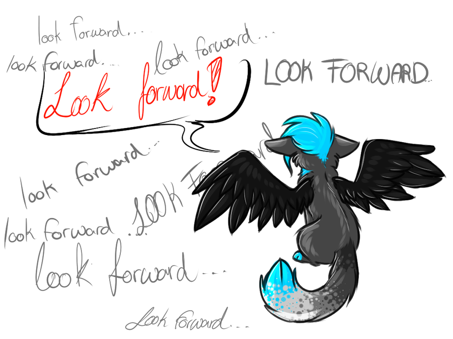 Look forward! by Sorasongz