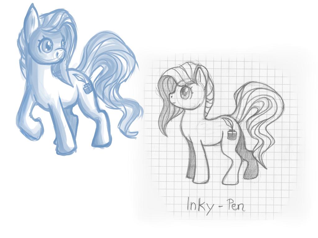 Inky-Pen Doodles by Sorasongz