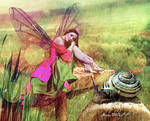 Fairy holding the cloudburst