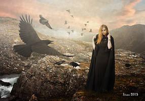 Lady Ravens by Julianez