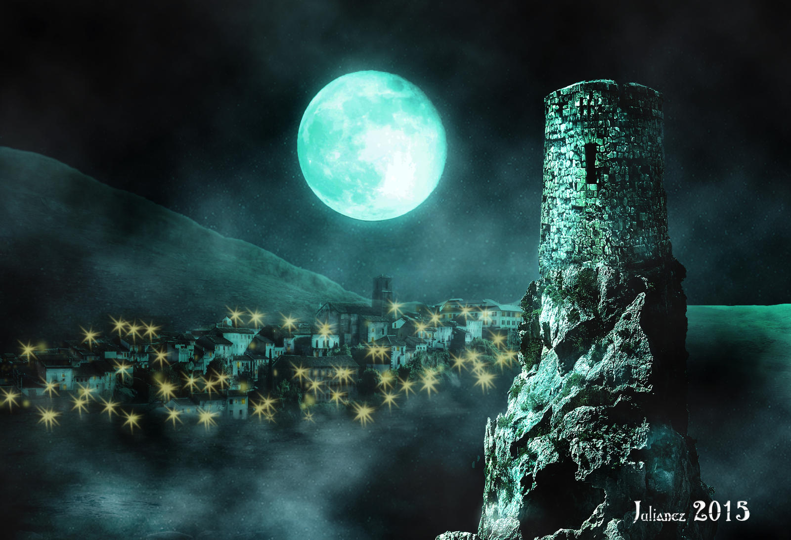 Moon Tower by Julianez
