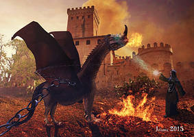 Hypnotizing the dragon by Julianez