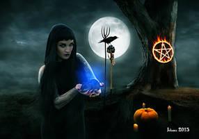 Evil ritual by Julianez